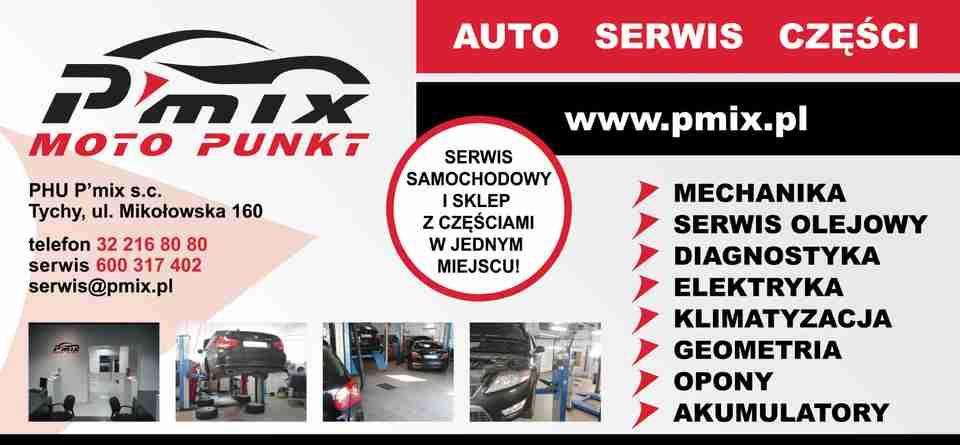 Wspaniały P'MIX MOTO PUNKT TYCHY warsztat samochodowy serwis samochodowy LO64